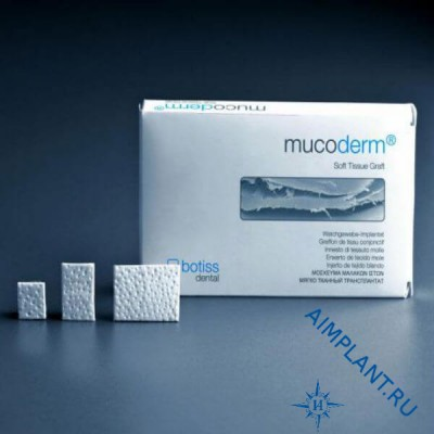 Mucoderm® 15x20 mm volumetric soft tissue graft