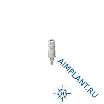 NP titanium/plastic abutment Adin
