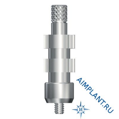 Impression transfer abutment 45° UniAbutment for open spoon (20° UniAbutment Pick-up)