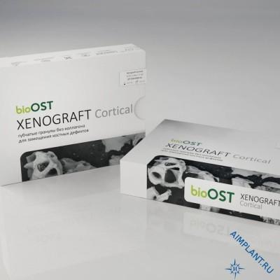 XENOGRAFT Cortical Гранулы кортикальные с коллагеном