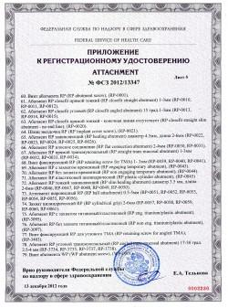 Регистрационное удостоверение Адин